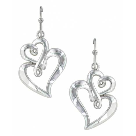 Montana Silversmiths Infinite Love Heart Earrings