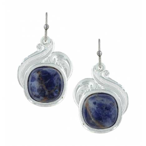 Montana Silversmiths Midnight Wind Earrings