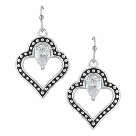 Montana Silversmiths Spade Of Hearts Earrings