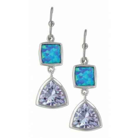 Montana Silversmiths River Of Light Cold Mountain Water Earrings