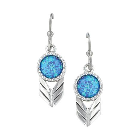 Montana Silversmiths Perfect Sky Flower Earrings