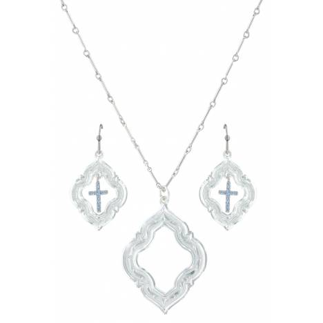 Montana Silversmiths Looking Through To Faith Jewelry Set