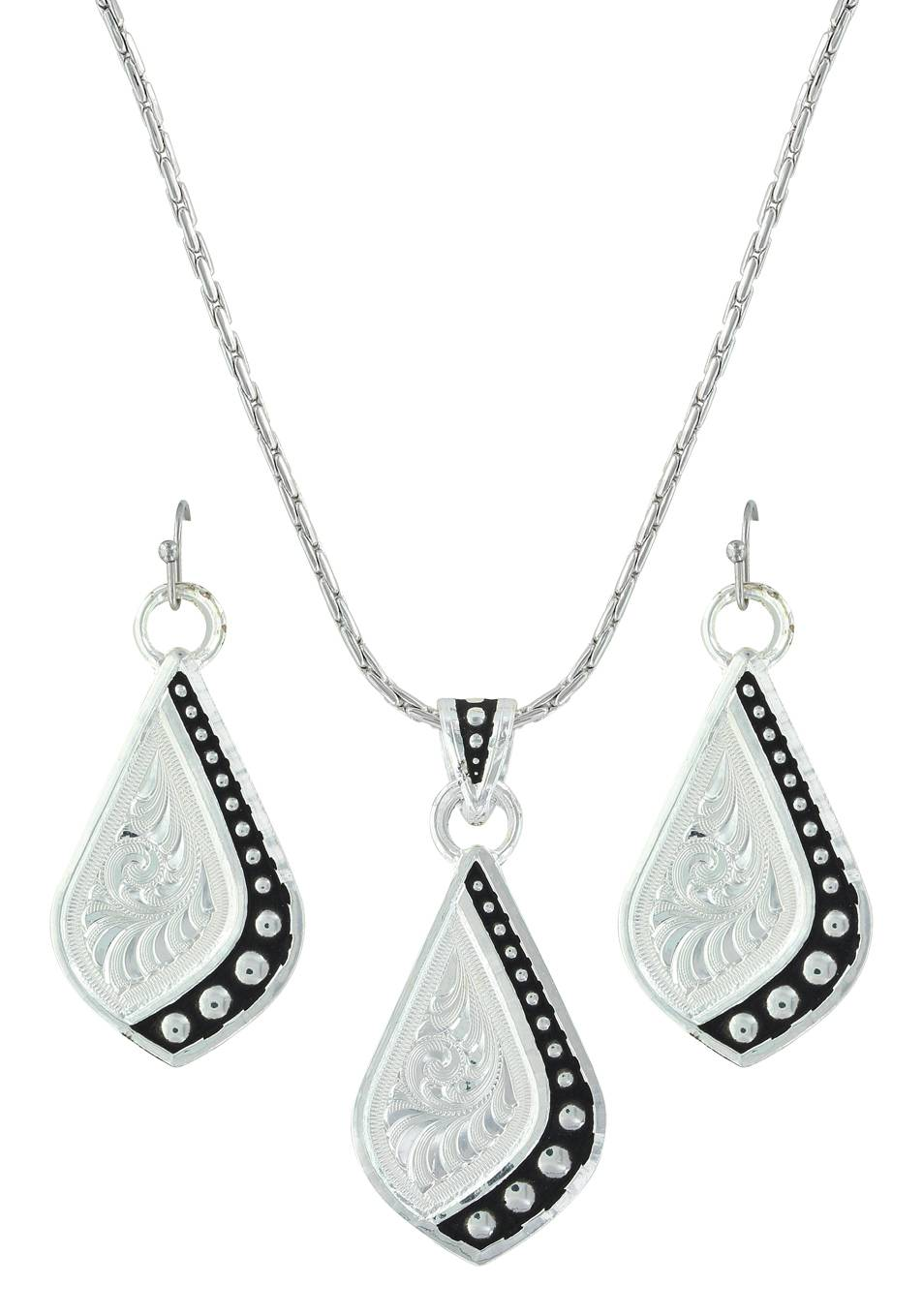 Montana Silversmiths The Path I Take Jewelry Set