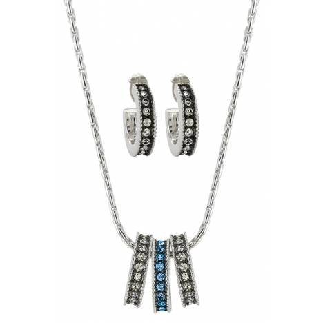 Montana Silversmiths Once In A Blue Moon Jewelry Set