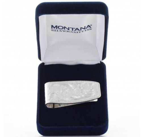 Montana Silversmiths Classic Cut Rope Money Clip