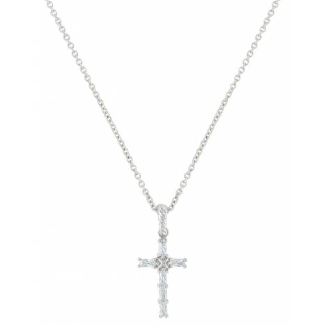 Montana Silversmiths Acadian Cross Baguette Necklace
