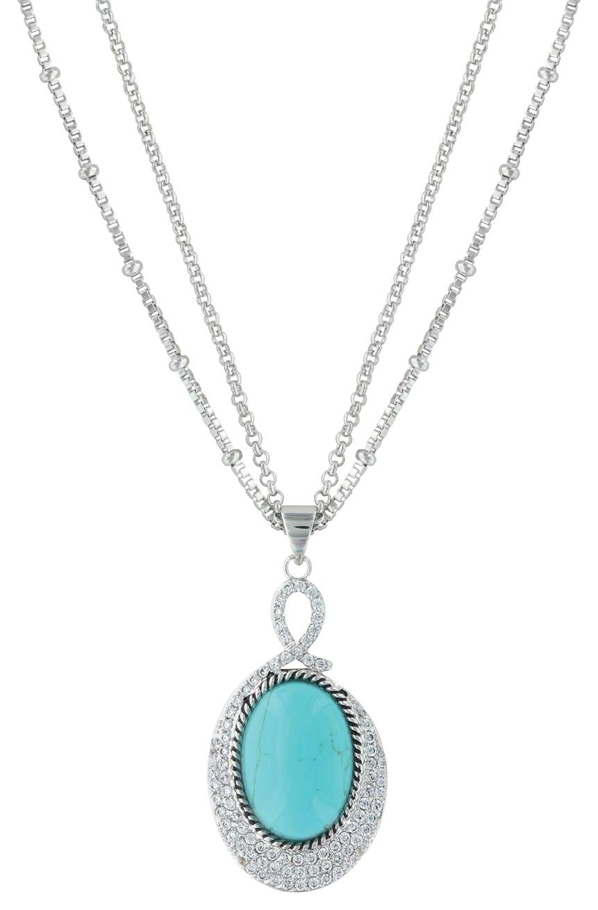 Montana Silversmiths Curling Path Necklace