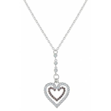 Montana Silversmiths Filling Up On Love Heart Necklace