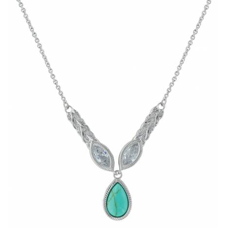 Montana Silversmiths Woven Light Lavalier Necklace