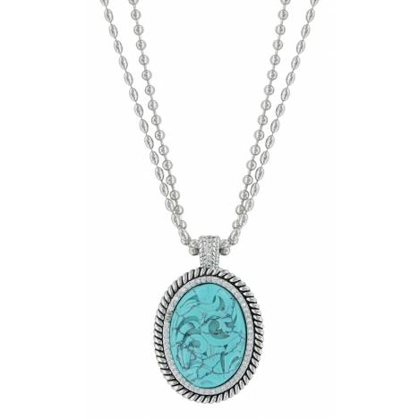 Montana Silversmiths Carved Legacy Necklace