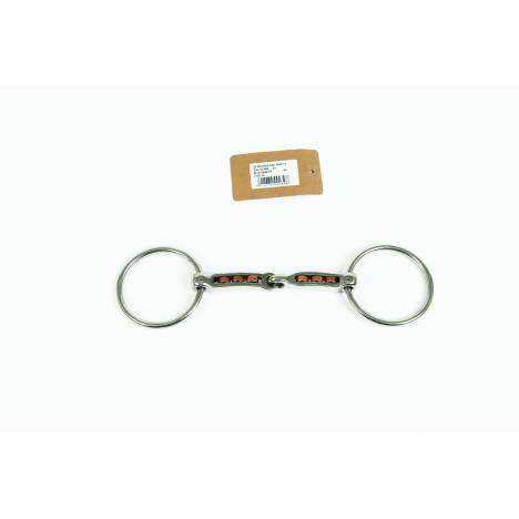 Metalab Mac-Genis Loose Ring 17 MM Snaffle with Copper Rollers