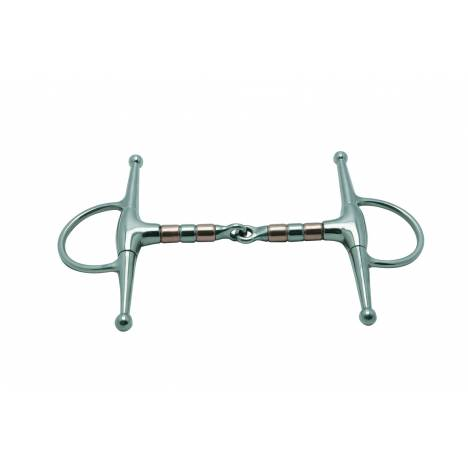 Metalab Jointed 16 MM Copper Rollers Full Cheek Snaffle