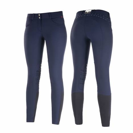B Vertigo Kimmy Medium Waist Knee Patch Breeches-Ladies