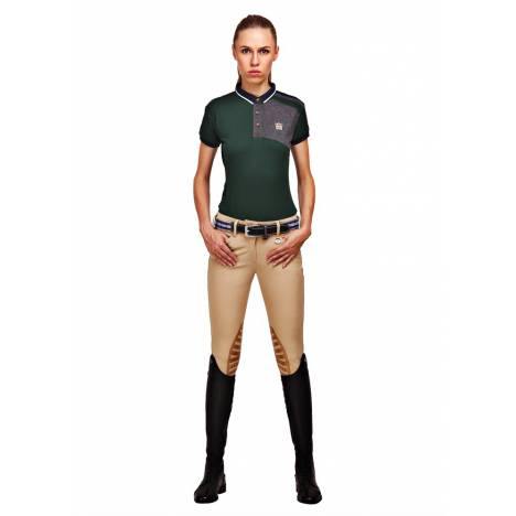 George Morris Add Back Knee Patch Breeches- Ladies