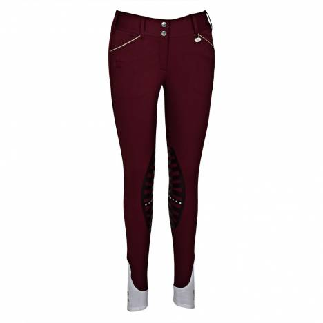 Equine Couture Add Back Knee Patch Breeches- Ladies