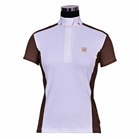 Equine Couture Champion Short Sleeve Show Shirt-Ladies