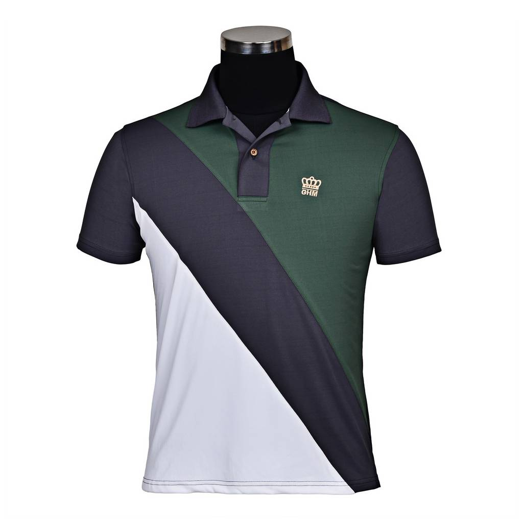 Tuffrider Pro Sport Short Sleeve Polo Shirt-Mens