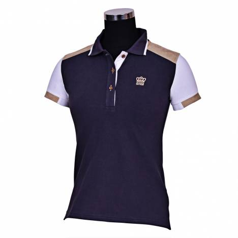 Equine Couture Reserve Short Sleeve Polo Shirt- Ladies