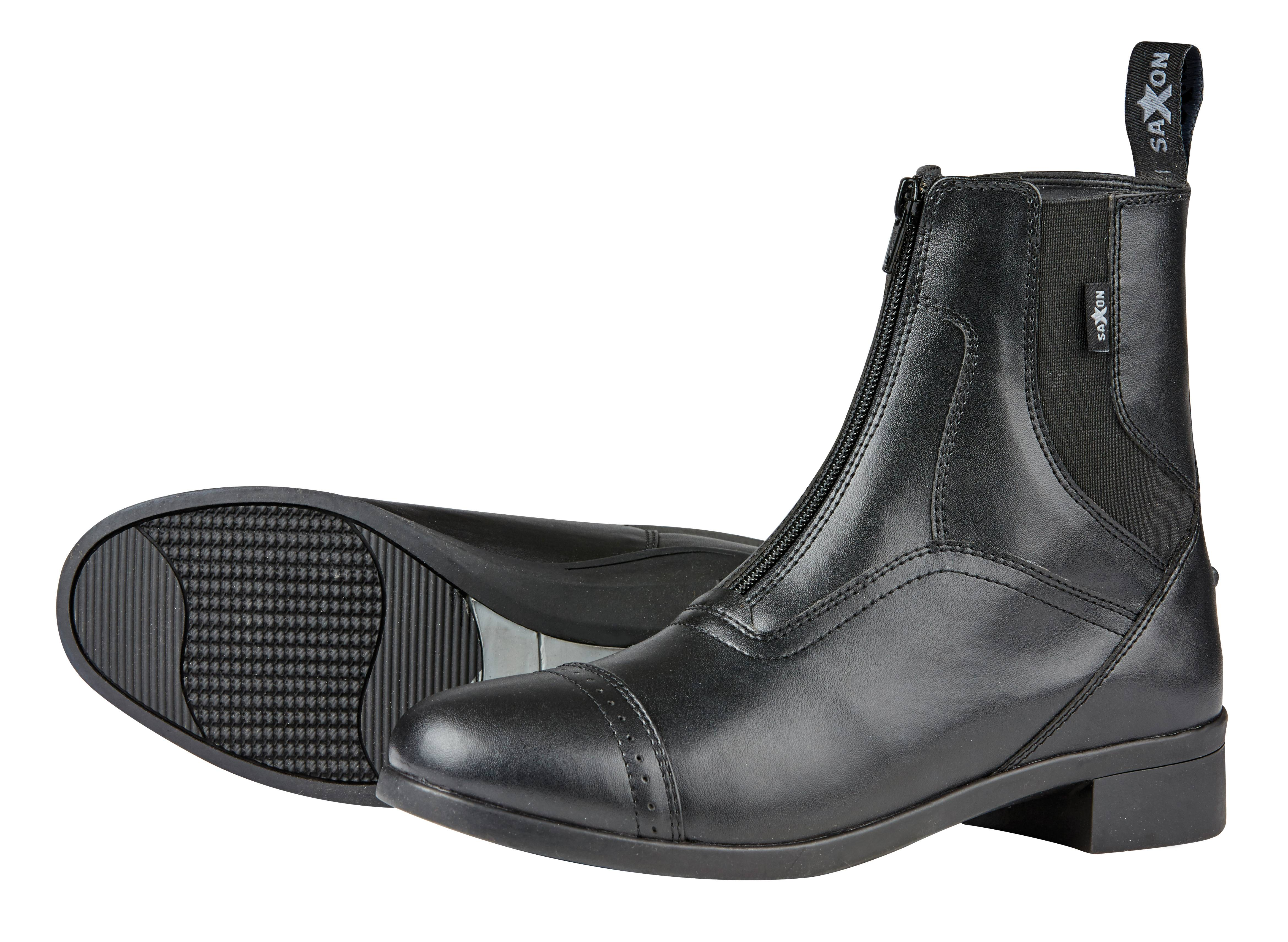 Saxon Syntovia Zip Paddock Boots- Ladies