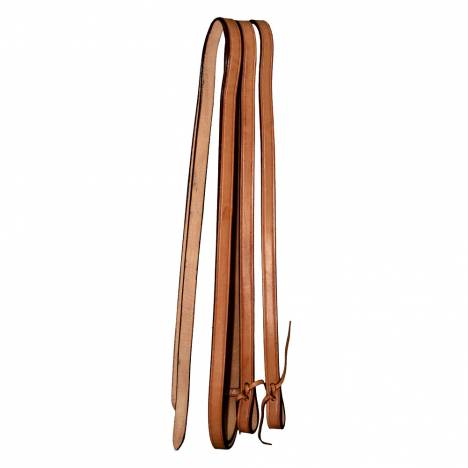Intrepid Western Leather Reins- Plain