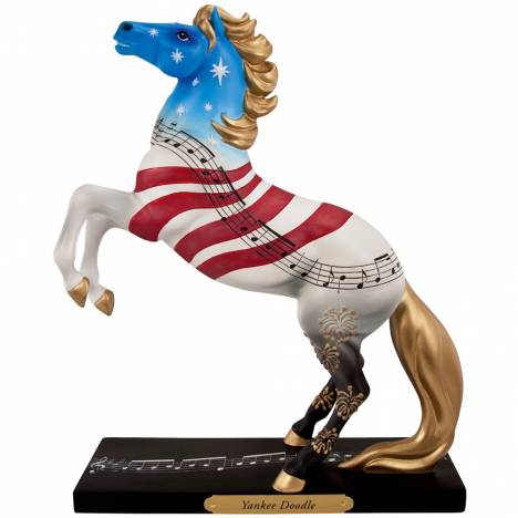 The Trail Of Painted Ponies Yankee Doodle