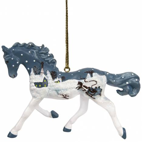 The Trail Of Painted Ponies Vintage Greetings Ornament
