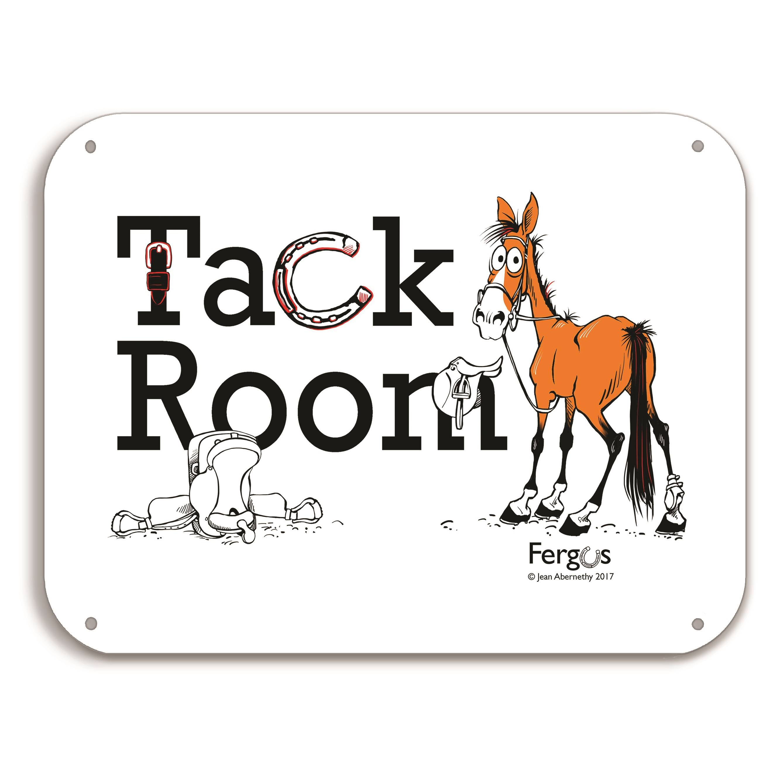 Fergus Barn Sign ''Tack Room''