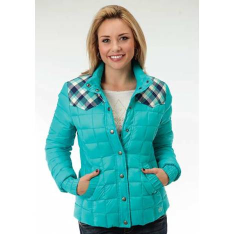 Roper Ladies Feather Filled Princess Seam Jacket