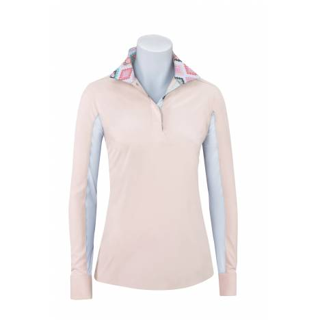 RJ Classics Prestige Rebecca Show Shirt - Ladies - Blush Aztec