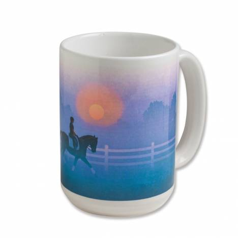 Kelley Special Moments Early Morning Ride Ceramic Mug