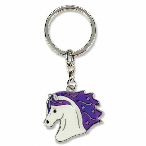 Kelley Horse Head Mood Keychain