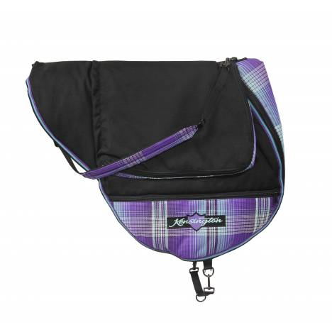 Kensington All Purpose/Close Contact Saddle Carry Bag - Lavender Mint