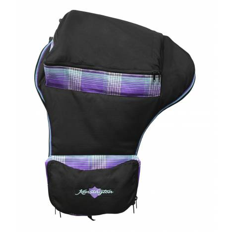Kensington Western Saddle Carry Bag - Lavender Mint