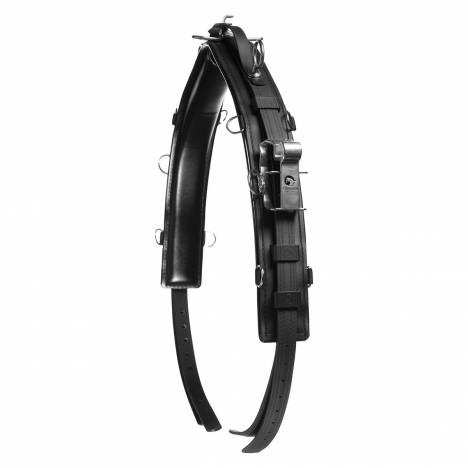 Horze QH Saddle Pro with Head Pole Straps-Synthetic