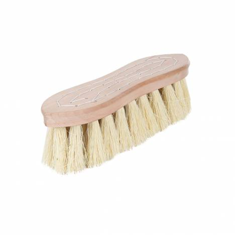 Horze Wood Back Firm Brush-Natural Bristles - 2 Inch