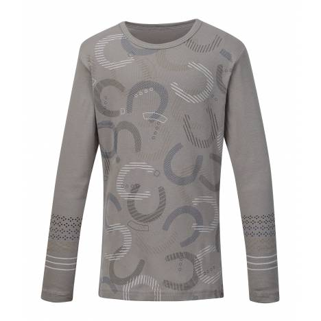 Kerrits Hoof Print Long Sleeve Tee- Kids