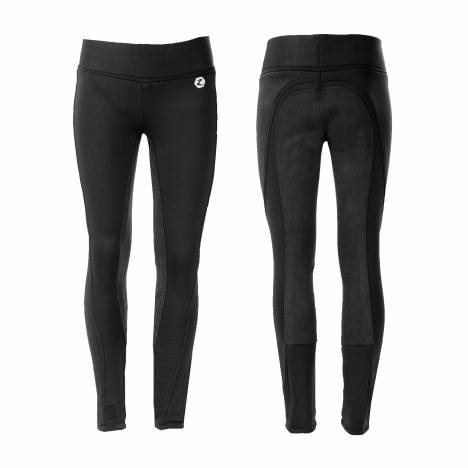 Horze Spirit Active Full Seat Winter Tights - Kids