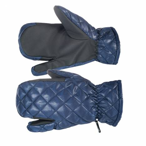 Horze Quilted 3-Finger Winter Gloves- Ladies