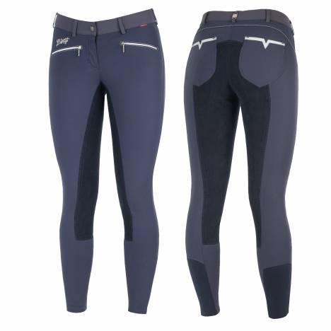 B Vertigo Claire Leather Full Seat Breeches - Ladies