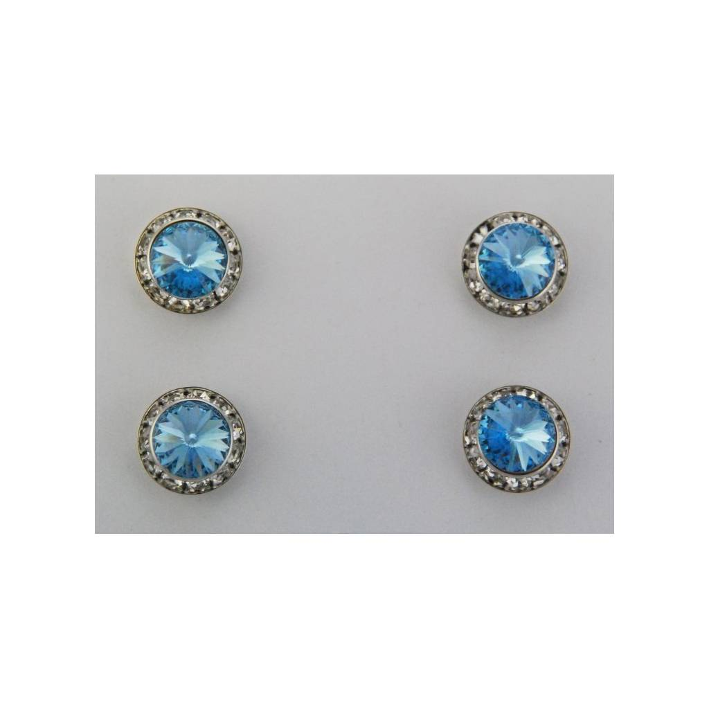 Finishing Touch Magnetic Tack Pin - Aqua Stone