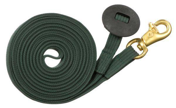 Tough-1 German Cord Cotton Lunge Line with Heavy Snap
