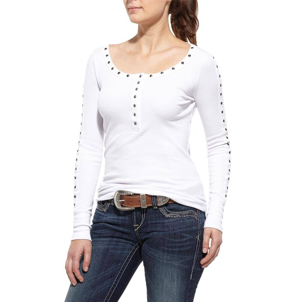 Ariat Women's Studded Loma Henley