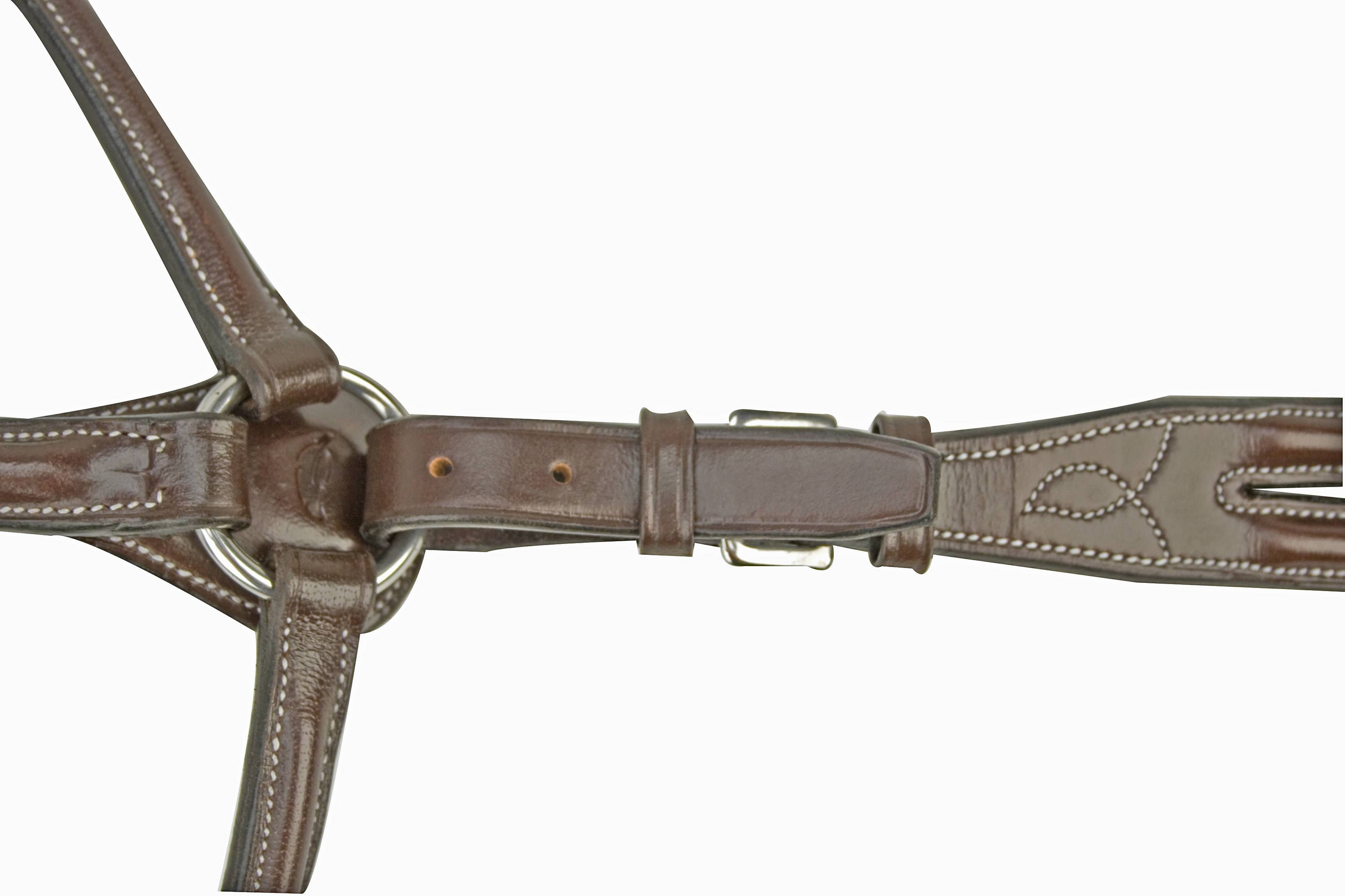Silverleaf Plain Raised Breastplate with Standing Attachment