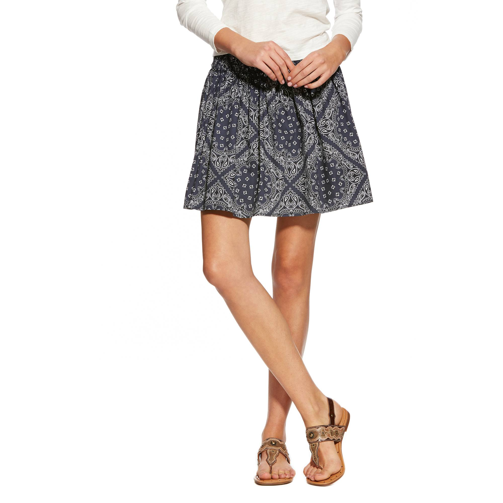 Ariat Women's Bandana Print Skirt