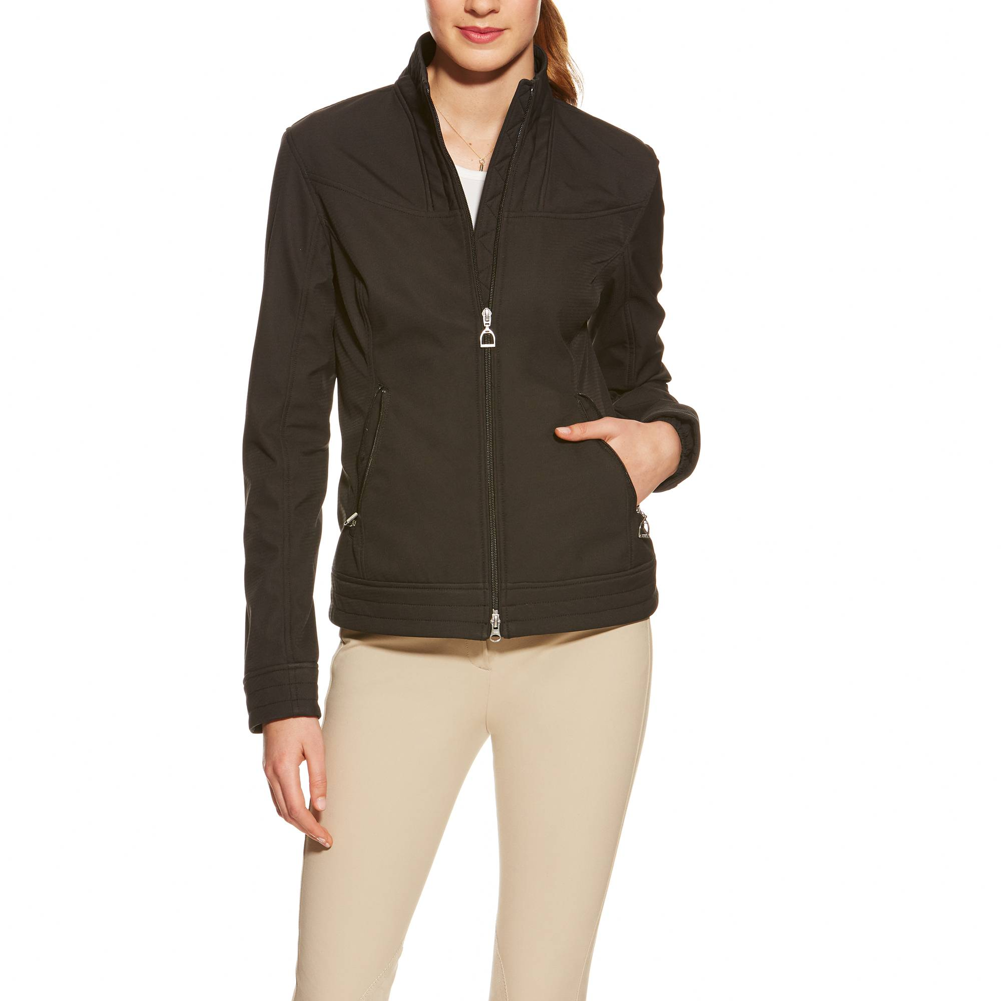 Ariat Revel Softshell Jacket - Ladies - Black