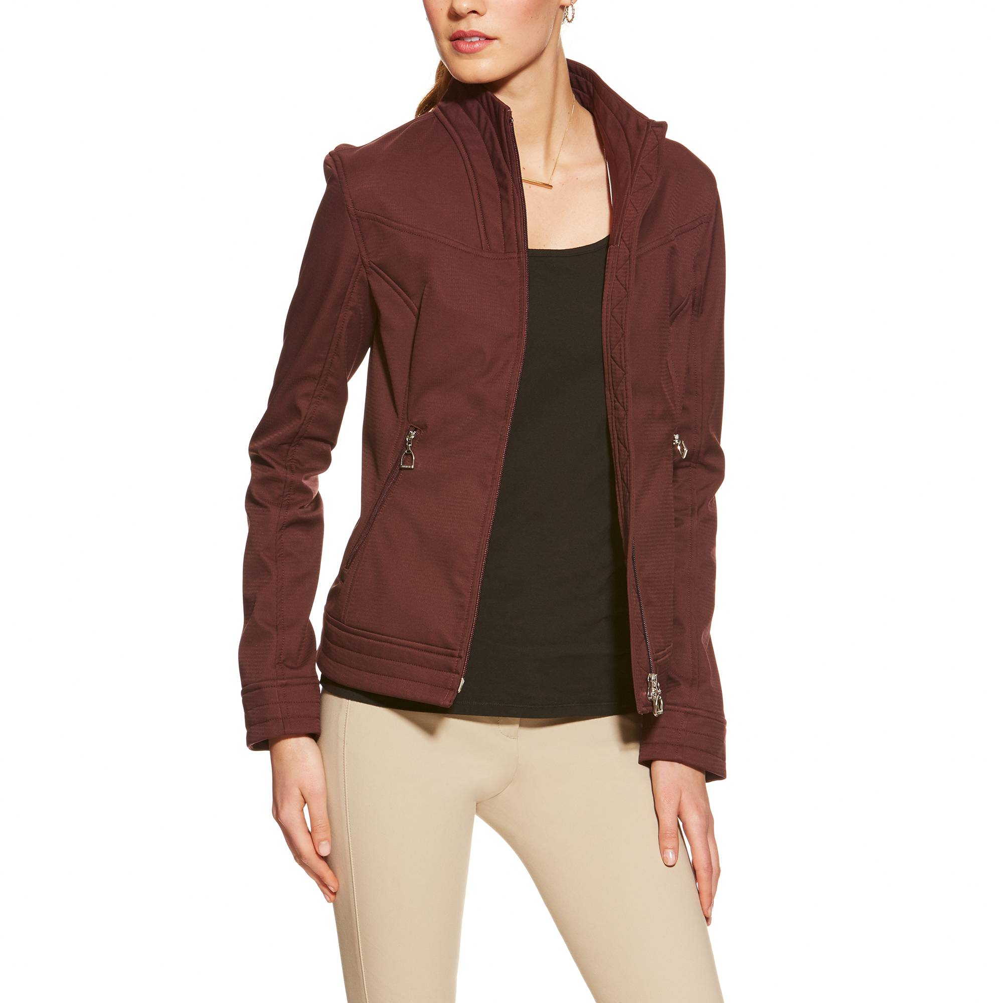 Ariat Revel Softshell Jacket - Ladies - Mulberry
