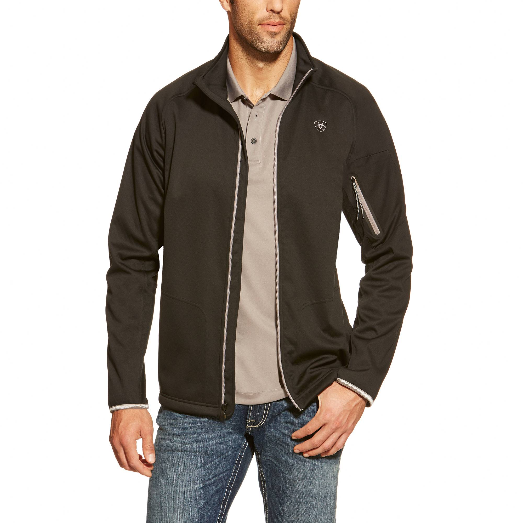 Ariat Saga Full Zip - Mens - Black