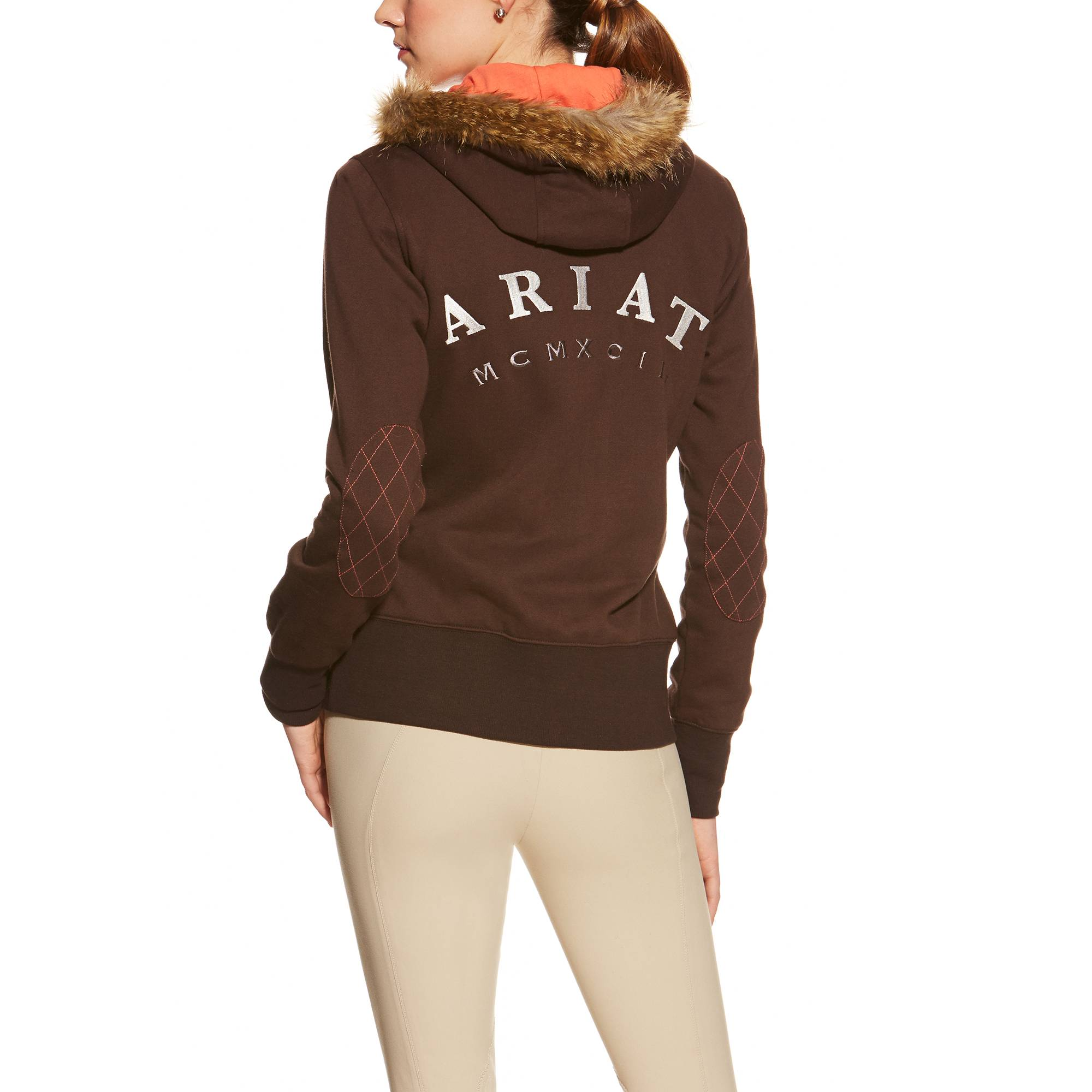 Ariat Pierce Full Zip - Ladies - Ganache