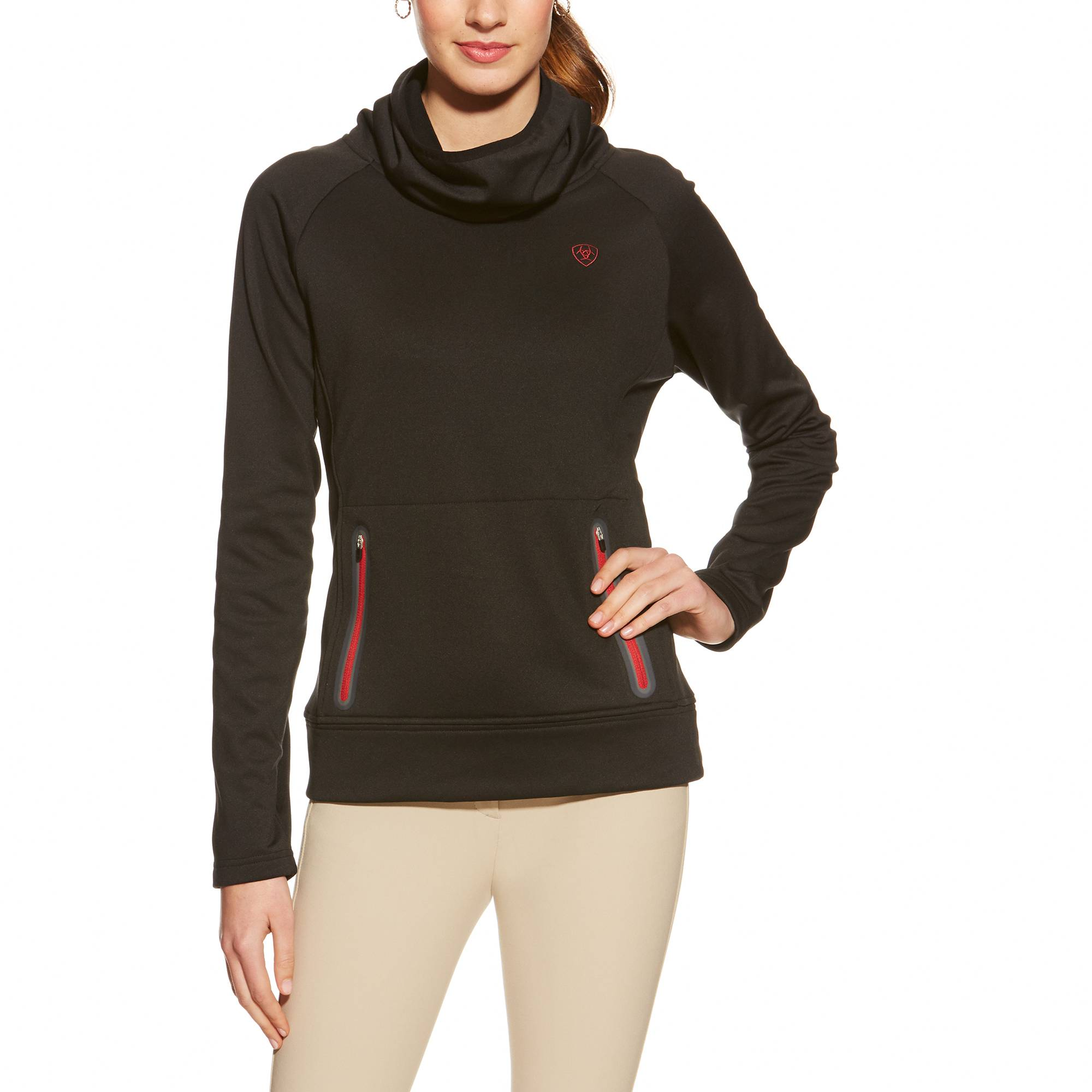 Ariat Conquest Cowlneck - Ladies - Black