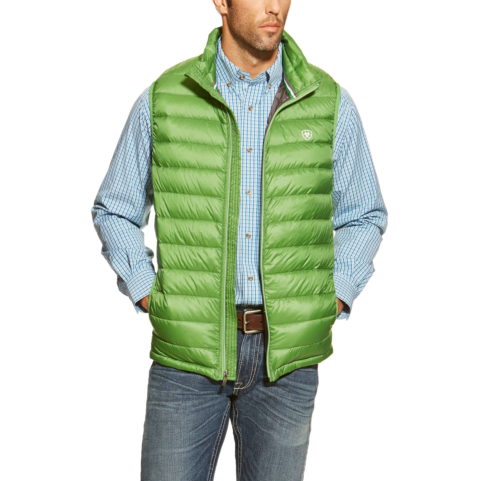 Ariat Ideal Down Vest - Mens - Isla Verde